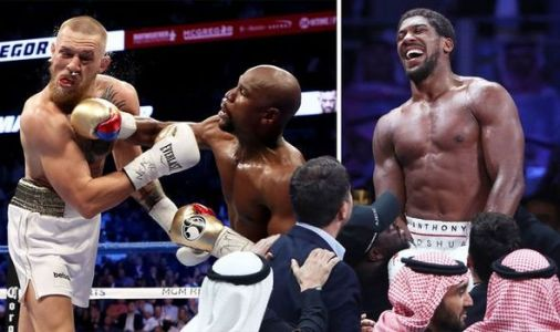 Anthony Joshua breaks Floyd Mayweather and Conor McGregor record with Andy Ruiz Jr fight