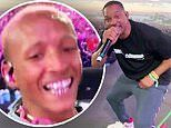 Jaden Smith surprises fans by bringing Will Smith out during his Coachella weekend two set