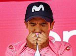 Richard Carapaz opens up lead in Giro d'Italia as he holds off Britain's Simon Yates