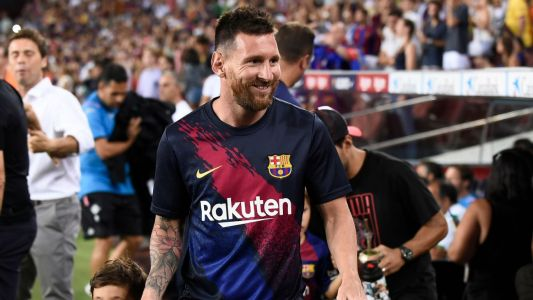 Source: Messi trains ahead of UCL opener
