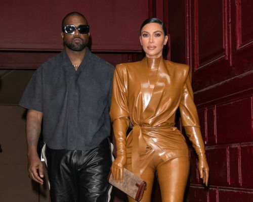 Kim Kardashian appears to support husband Kanye West in run for president