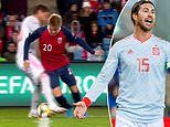 Martin Odegaard pulls off outrageous nutmeg on Sergio Ramos before being hacked by Read Madrid star