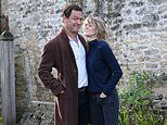 Dominic West's wife Catherine Fitzgerald flies alone to Ireland 'for on a work trip'