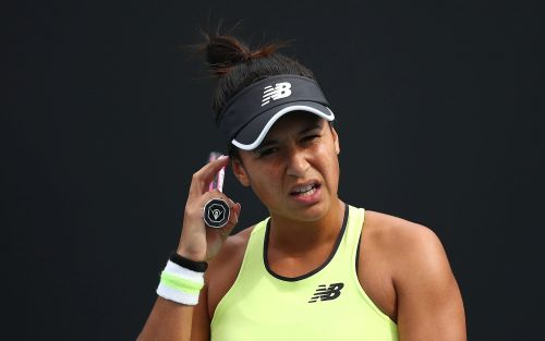 Australian Open 2020: Heather Watson admits she was 'too slow' in one-sided loss to Elise Mertens