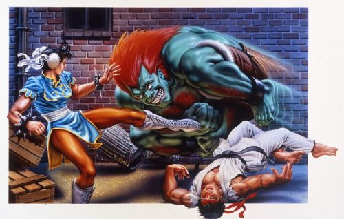 Legendary video game box art artist for Street Fighter 2 and Streets Of Rage 2 dies