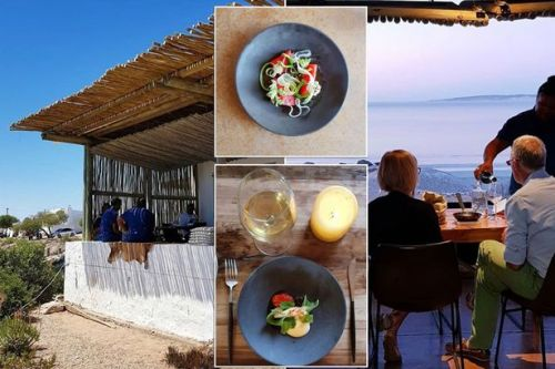 Beach restaurant where chefs forage for food on seashore named best in the world