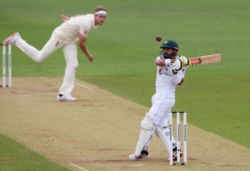 Bad light and Mohammad Rizwan fifty frustrate England on gloomy Friday