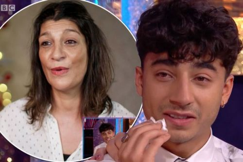 Strictly's Karim Zeroual in tears after hearing emotional video confession from mum