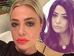 Lisa Armstrong transforms as she switches her short platinum tresses for long mocha curls