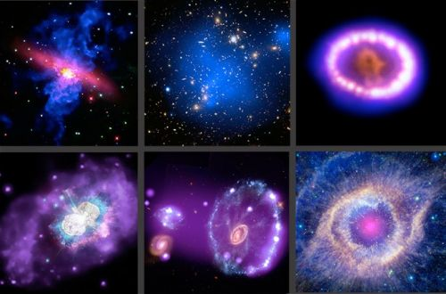 "Chandra shows off multiwavelength ""treasure chest of cosmic delights"""
