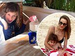Bec Judd's family brunch in Noosa is interrupted by an unexpected guest
