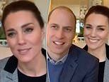 Back to business! Kate Middleton dons a smart grey blazer for her first engagement of 2021