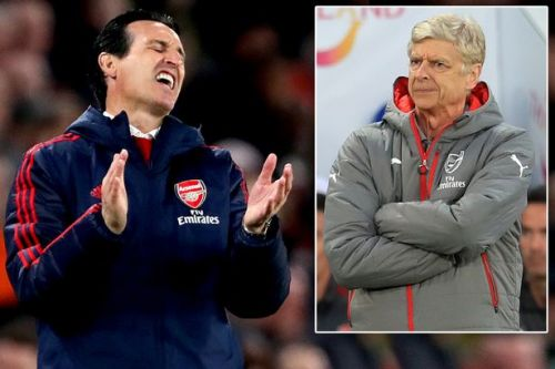 Arsene Wenger hits back at Unai Emery over claims Arsenal were in decline