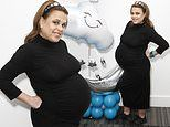 Nadia Essex showcases her blossoming bump at The Baby Show