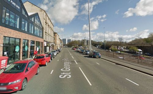 Woman, 21, grabbed while crossing road by man who tried to force her into his car