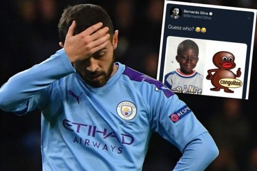 Bernardo Silva banned for 'racist' tweet comparing Benjamin Mendy to cartoon character