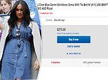 Meghan Markle's £96 denim dress is selling for THREE times the priceonline