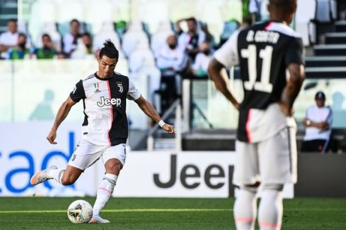 Cristiano Ronaldo breaks 60-year record with strike against Torino