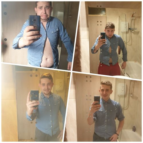 25-year-old who drank every night turns life around and loses four stone in four months