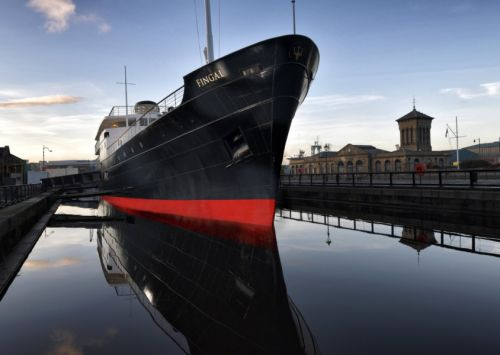 First look at The Fingal, Leith's new floating hotel