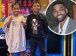 'My everything': Tristan Thompson shares rare snaps of daughter True and son Prince