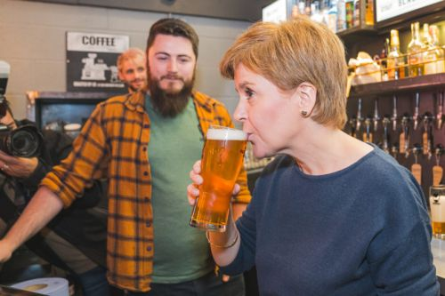 In pictures: First Minister Nicola Sturgeon on the campaign trail in Ellon