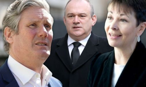 Labour and Lib Dems ignore suspension to restart campaign 24hours after Philip's death