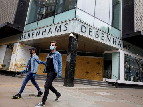 Fast-fashion giant Boohoo has bought department store chain Debenhams for $75 million - but the deal won't save the chain's 118 stores