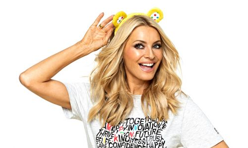 Tess Daly stuns during Children in Need in dazzling sequinned jumpsuit