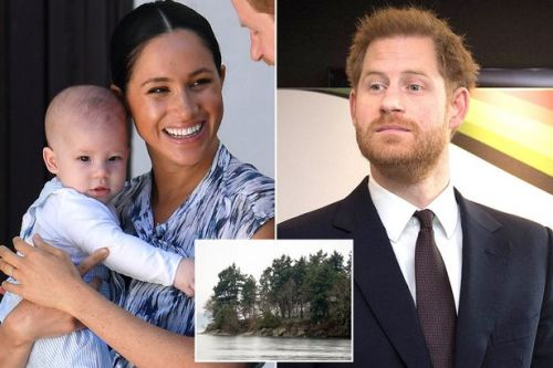 Meghan Markle cradles Archie while out hiking as Prince Harry flies over to Canada