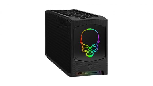 Intel's new pre-built NUC gaming PC can fit a full-size Nvidia RTX 3080