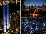 NYPD post stunning video of 9/11 Memorial flyover on 20th anniversary of World Trade Center attacks