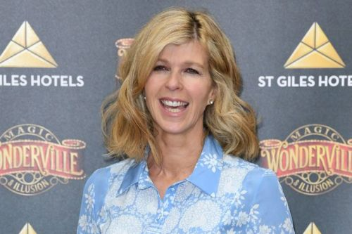 Kate Garraway says it's 'strange' to leave Derek on first night out since Covid