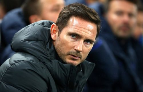 Chelsea manager Frank Lampard is eyeing up a big name scalp in the Champions League draw