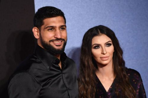 Amir Khan and wife Faryal Makhdoom expecting third child as they share boxing-themed baby announcement