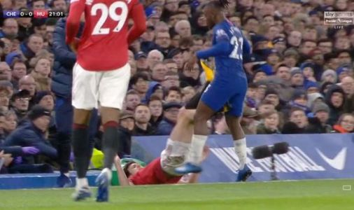 Man Utd star Maguire questioned by Neville for Chelsea bust-up as fans demand red card