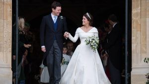 Princess Eugenie shares unseen footage from her wedding day and it's the cutest