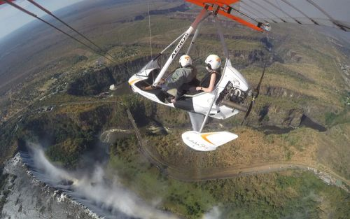Travel on Trial: Hovering high above Victoria Falls - in a glorified scooter with wings