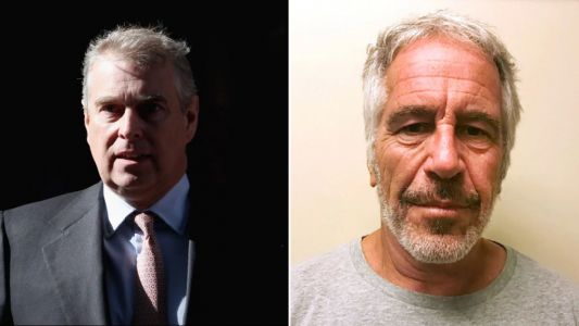 What did Prince Andrew say about the Jeffrey Epstein scandal?
