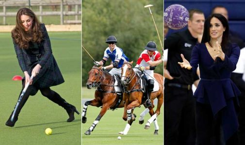 Best photos of the royals playing sports including Kate Middleton, Meghan Markle and more