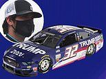 NASCAR driver will debut a Trump 2020 car in Brickyard 400 race against Bubba Wallace