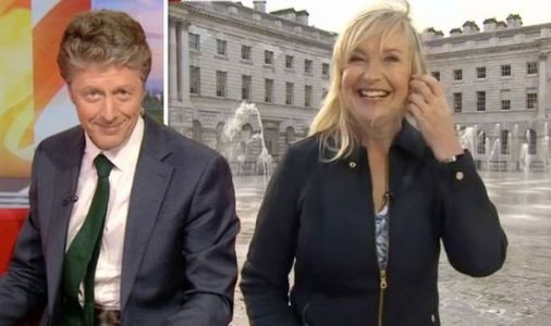BBC News: 'That was not very clever!' Carol Kirkwood soaked after major set blunder