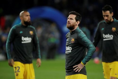 Lionel Messi blasts Barcelona board after stars agree 70 percent pay cut