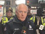 Top cop bashed in unprovoked attack by thugs near train station in Melbourne