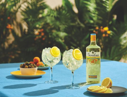 Gordon's launch new flavoured gin - and it's ideal for summer