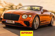 Bentley Continental GT Speed Convertible 2021 video review