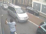 Conman who falsely claimed he suffered crash injuries caught sprinting after the other vehicle