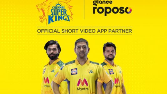 IPL 2021: CSK ties up with video-sharing partners Glance and Roposo