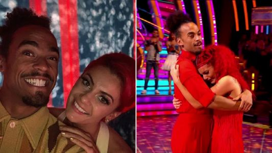 Strictly's Dianne Buswell posts emotional message to Dev Griffin after shock exit: 'My heart is broken'