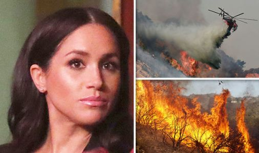 Royal CRISIS! Meghan Markle's childhood home to be RAVAGED by deadly California wildfire
